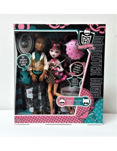 Monster High: Draculara y Clawd Wolf - Mattel