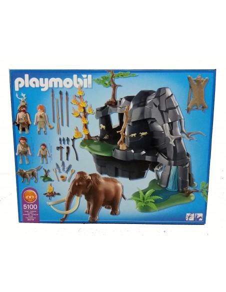 5100 - Cueva prehistórica con mamuts - PLAYMOBIL