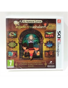 Nintendo DS - El profesor Layton y la llamada del Espectro