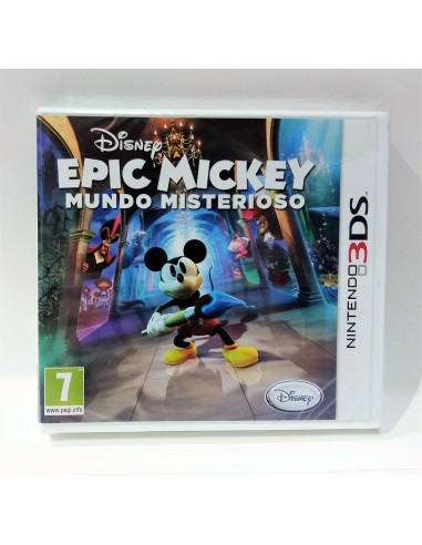 Nintendo 3DS - Epic Mickey: Mundo Misterioso