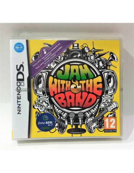 Nintendo DS - Jam With The Band
