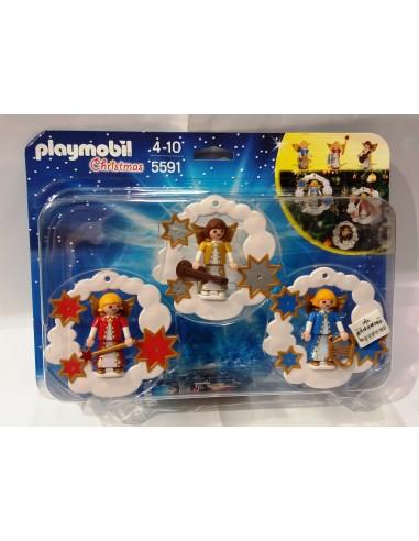 5591 - Adornos de Navidad - PLAYMOBIL