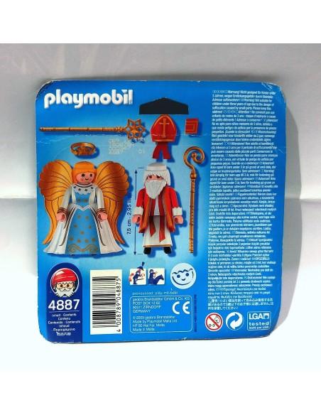 4887 - San Nicolas y ángel - PLAYMOBIL