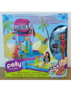 POLLY POCKET - Piscina-Tobogán (Ultimate Pool Party)