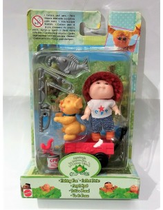 Cabbage Patch Kids mini. Va de pesca. Mattel