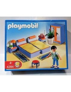 4284 Dormitorio doble. PLAYMOBIL