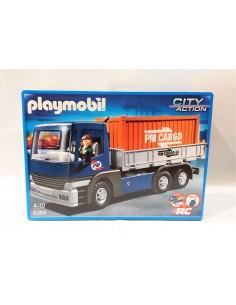 5255 Camión de carga con contenedor. PLAYMOBIL