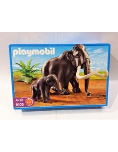 5105 Mamut y bebé mamut . PLAYMOBIL