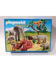 5417 Sabana africana con animales. PLAYMOBIL