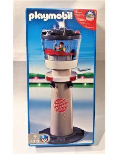 4313 Torre de control con luces. PLAYMOBIL