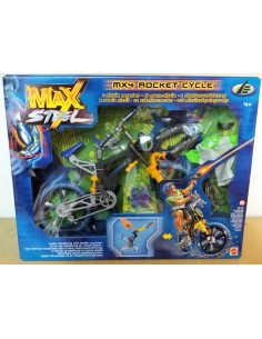 Max Steel - Mx4 ROCKET CYCLE