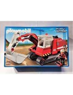 5282 Excavadora de construcción. PLAYMOBIL