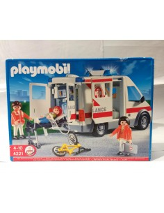 4221 Ambulancia. PLAYMOBIL