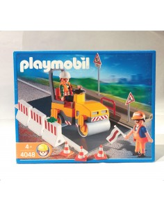 4048 Apisonadora. PLAYMOBIL