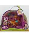 POLLY POCKET - Autobús Mascotas Mil Brillos - Mattel