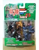 GIJOE VS. COBRA - Snake Eyes vs. Cobra Commander - Hasbro.