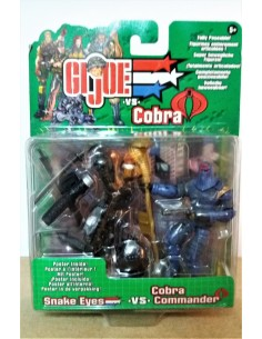 GIJOE VS. COBRA - Snake Eyes vs. Cobra Commander - Hasbro.