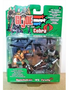 G.I. JOE VS. COBRA - Nunchuk vs. Firefly - Hasbro.