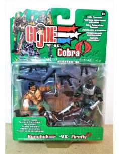 GIJOE VS. COBRA - Nunchuk vs. Firefly - Hasbro.