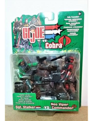 GIJOE VS. COBRA - Sgt.Stalker vs. Neo Viper Commander - Hasbro.