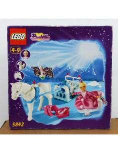 5842 Vanilla's Frosty Sleighride - LEGO BELVILLE