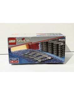 4520 Railes curvados. LEGO...