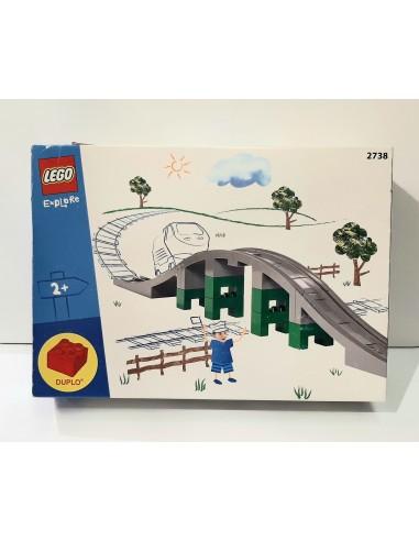 2738 Puente del tren. LEGO DUPLO