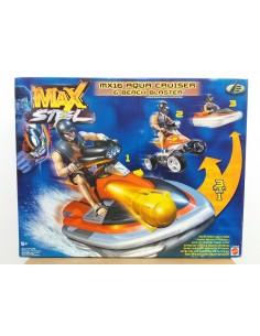 MAX STEEL MX16 Aqua Cruiser y Beach Blaster - Mattel.