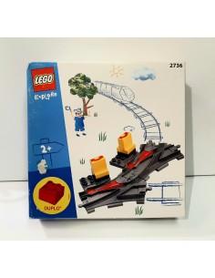 2736 Cambio de vía. LEGO DUPLO