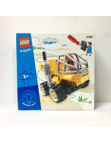 3588 LEGO Explore Logic - Camión Dump...