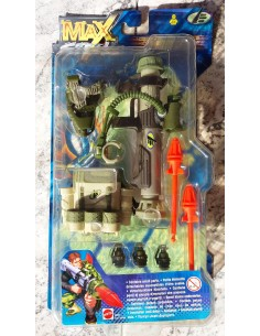 Max Steel - SECRET COMANDO BATTLE GEAR