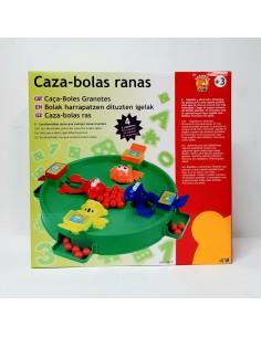 Juego de mesa CAZA-BOLAS RANAS