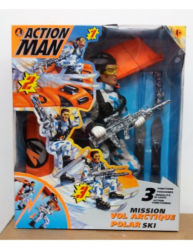 ACTION MAN Mission Vol Arctique Polar Ski - Hasbro.