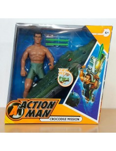 ACTION MAN Crocodile Mission - Hasbro.