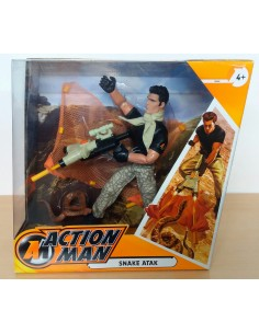 ACTION MAN Snake Atak - Hasbro.