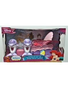 MUÑECA ARIEL. Carruaje con delfines - Simba.