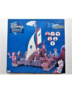 DISNEY HEROES Peter Pan Pirates. Balsa Niños Perdidos - Famosa