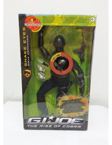 """G.I. JOE Snake Eyes electrónico 12""""- Hasbro"""
