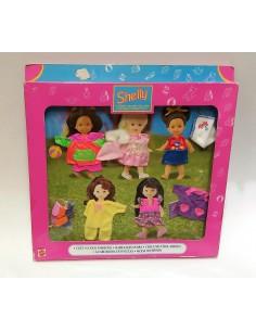 BARBIE Shelly y sus amigas Moda diversión - Mattel
