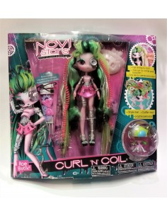 "Muñeca NOVI STARS CURL ""N"" COIL ROE BOTIC. MGA ENTERTAINMENT"