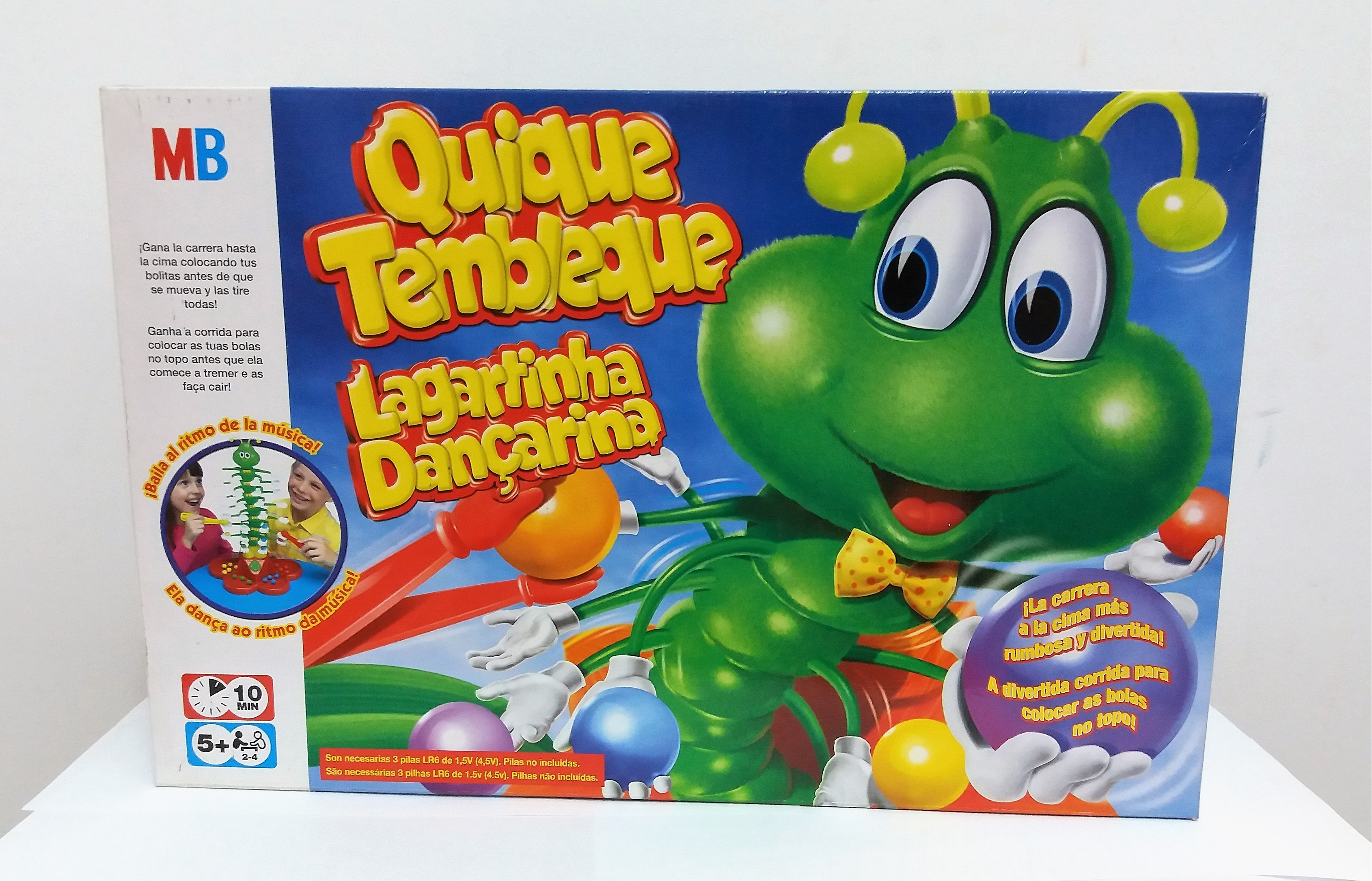 Juego De Mesa Quique Tembleque Hasbro Mb Comprar En Ca La Madrona