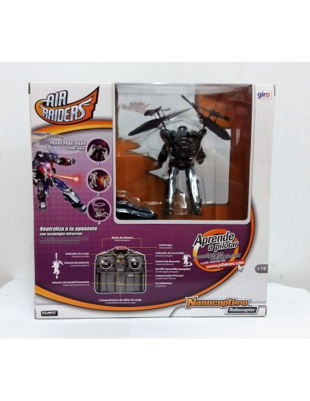 AIR RAIDERS-Nanocoptero ROBOCOPTER