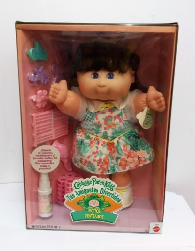 CABBAGE PATCH KIDS. Ricitos penteados Josefa Sira