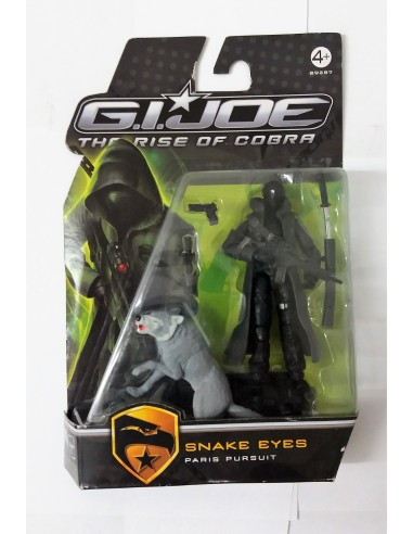 GIJOE THE RISE OF COBRA - Snake Eyes Paris Pursuit- Hasbro.