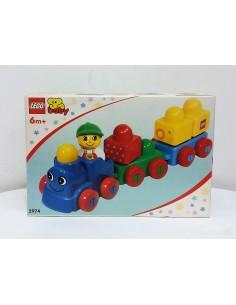 2974 LEGO baby. Tren bebé. 2001.
