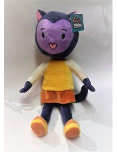 PELUCHE MISHA la gata violeta