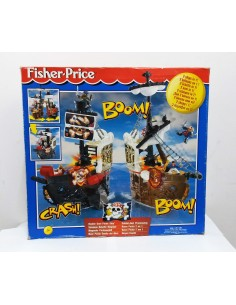 FISHER PRICE. Barco pirata 2 en 1