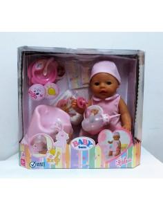MUÑECA BABY BORN niña orinal mágico