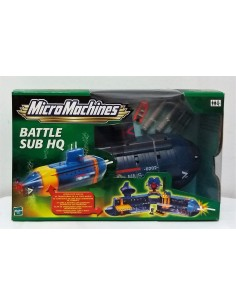 MicroMachines Battle Sub HQ - Hasbro
