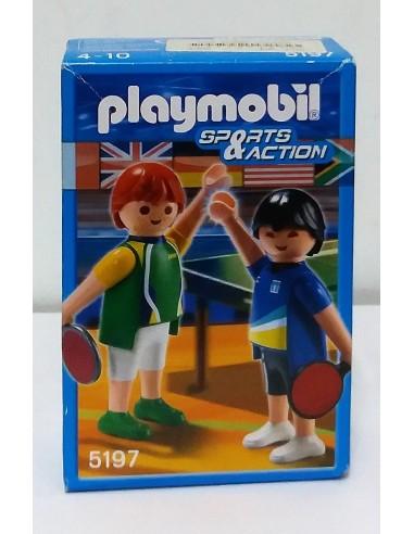 5197 - Pareja de Ping-Pong - Playmobil